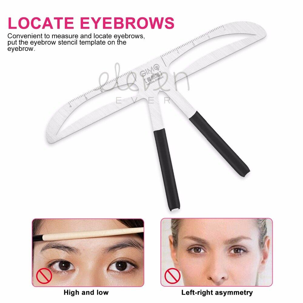 化妝工具套件精確永久性修眉工具設計微刀片培訓化妝女士化妝定型器