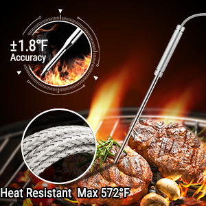 meat stick thermometer wireless
