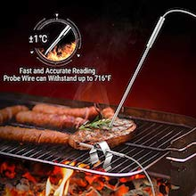 """8.5"""" long Probe-Both for meat and temperature"""