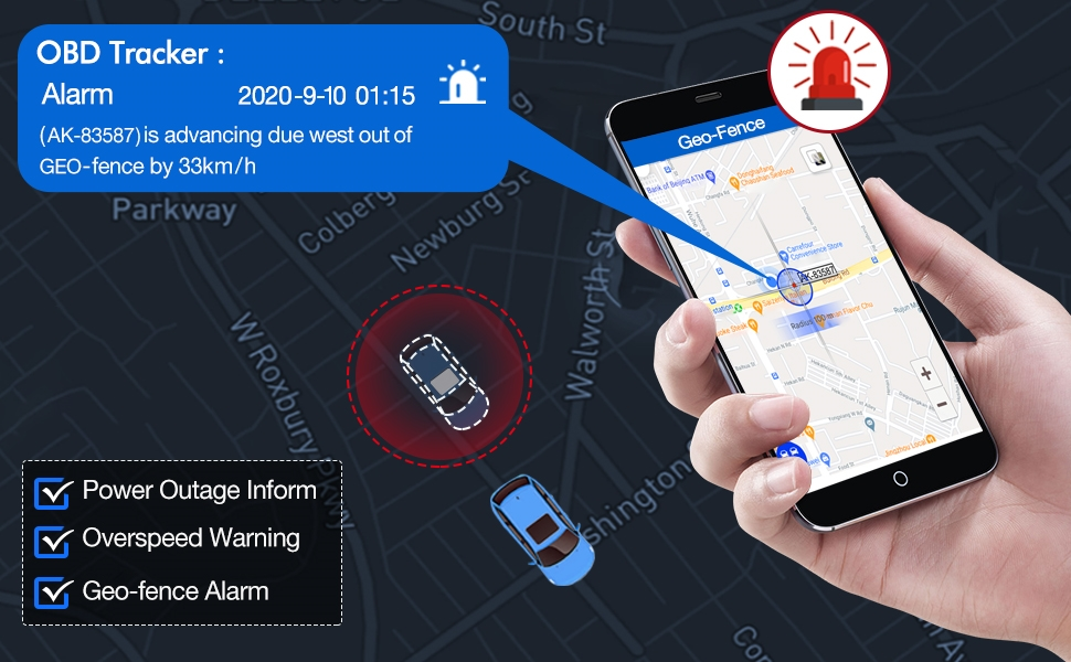 OBD car tracking