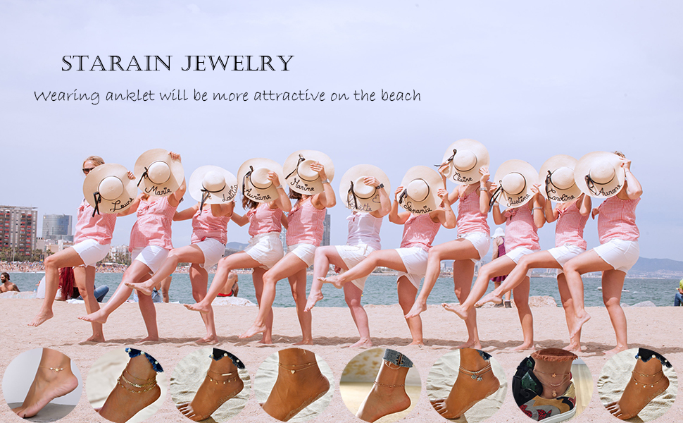 ankle bracelet women