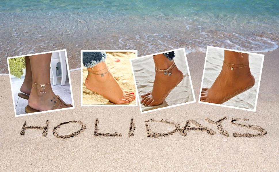 ankle bracelets women