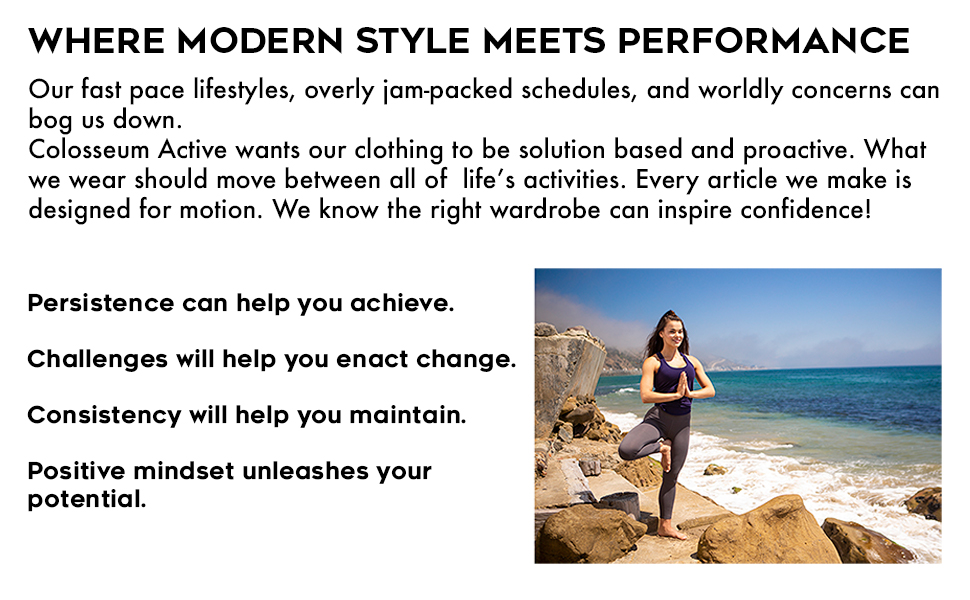 Where Modern Style Meets Performance Womens Active Clothing