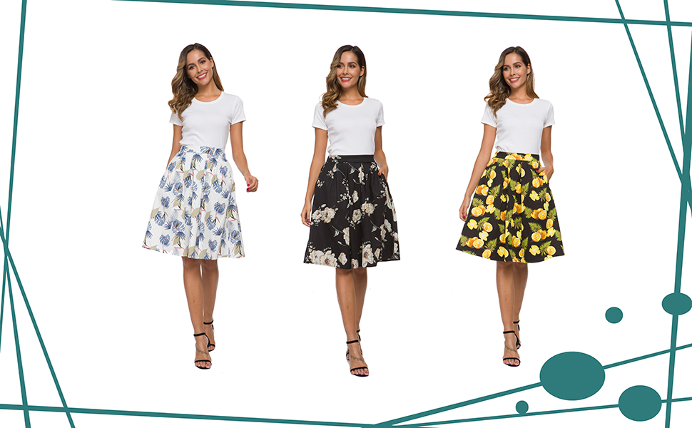 high waist skirts for women,skirts with pockets for women,vintage skirt,women skirts,a line skirt