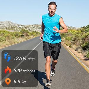 Smart Watch Android iOS Phones Men Women Fitness Tracker IP68 Waterproof Pedometer Sports Smartwatch