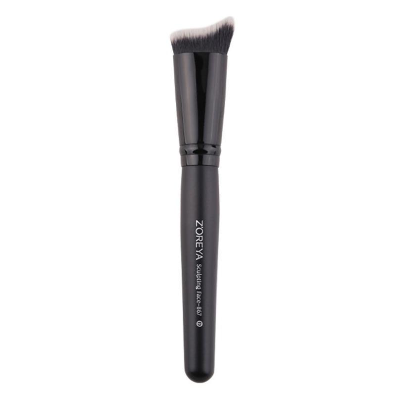 化妝刷粉底液化妝刷化妝品美容化妝工具,適合初學者輕鬆攜帶*