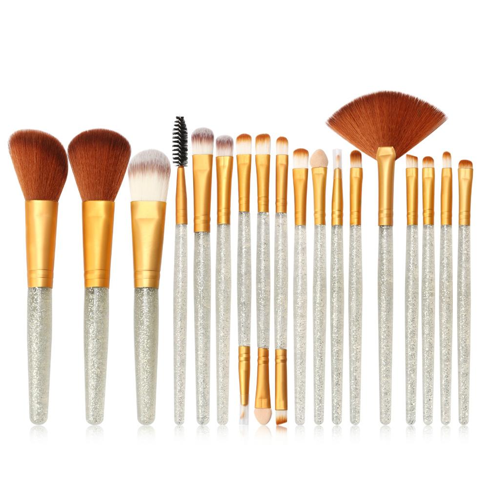 化妝刷新產品Flash Drill 18化妝刷套裝化妝工具