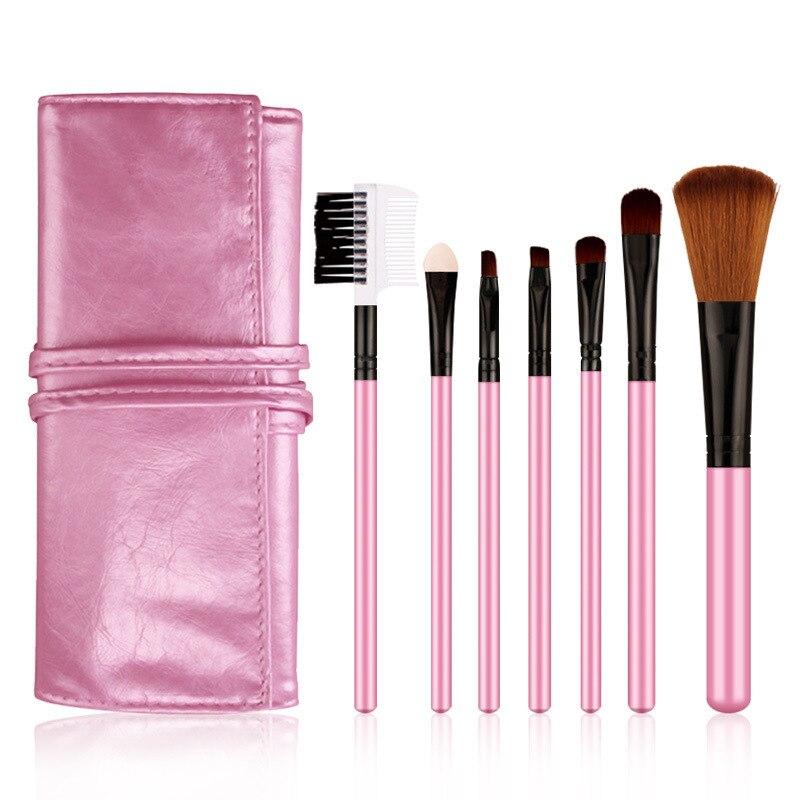 化妝化妝刷套裝7件式腮紅刷眼影刷眉粉刷化妝妝