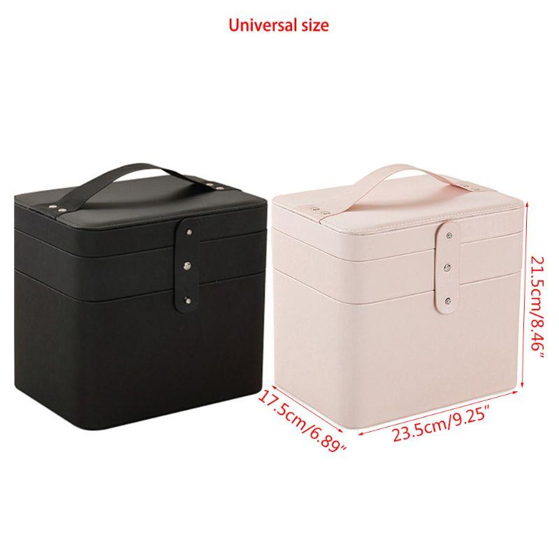 化妝箱便攜式旅行化妝箱女士專用化妝箱,化妝品容器,首飾盒,化妝品收納盒,化妝品