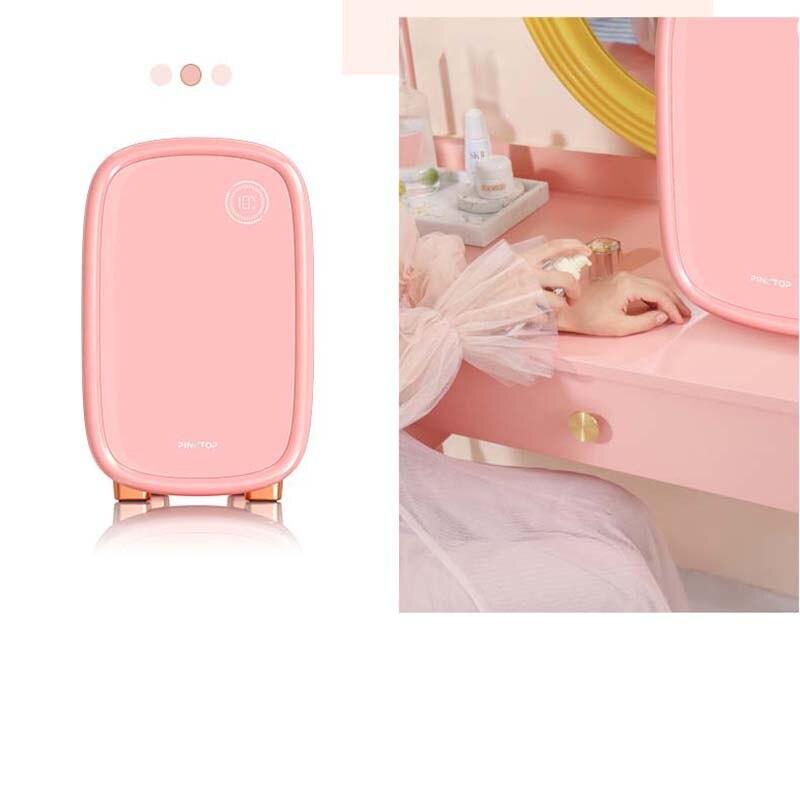 化妝冰箱亞馬遜迷你冰箱化妝迷你冰箱化妝冰箱instagram護膚冰箱英國Costmics存儲