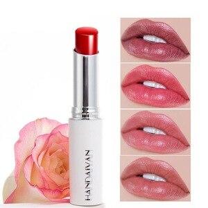 化妝口紅啞光唇膏性感的化妝啞光唇膏天然玫瑰精華液防水持久光澤嘴唇唇膏套裝