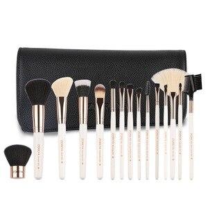 化妝工具15化妝刷尼龍頭髮化妝刷套裝專業眼影粉底眉毛唇部化妝刷