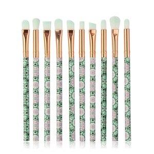 化妝刷多功能化妝刷遮瑕膏眼影刷化妝工具10支裝