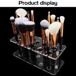 化妝刷架20格化妝刷架刷架展示架化妝刷架乾燥架架子存放架
