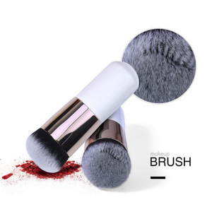 化妝刷粉底霜平面霜散粉輪廓化妝粉底刷專業臉部化妝化妝品刷工具