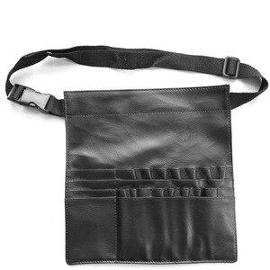 化妝刷收納袋專業黑色化妝師腰包化妝工具箱