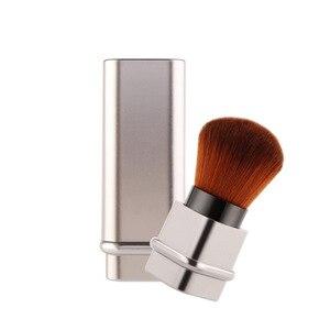 化妝粉腮紅化妝刷伸縮粉底化妝品腮紅臉粉Maquiagem化妝刷工具