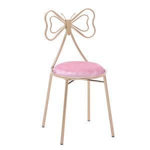 化妝凳歐式現代美麗第一凳化妝椅化妝凳鐵藝化妝椅靠背化妝凳