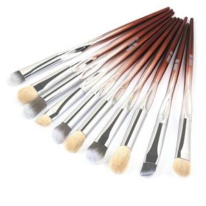 化妝刷套裝專業10支/批化妝刷套裝眼影混合眼線筆睫毛眉刷化妝工具