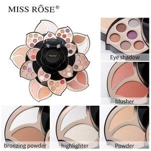 彩妝套裝盒專業彩妝全套手提箱彩妝套裝女士彩妝套裝唇膏,眼影調色板化妝刷套裝
