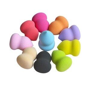 化妝海綿粉底液光滑的化妝品粉撲葫蘆美容化妝雞蛋麵部化妝美容工具Dropshipping