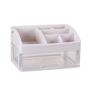 化妝收納盒塑料抽屜化妝品收納盒首飾盒化妝盒梳妝台裝飾