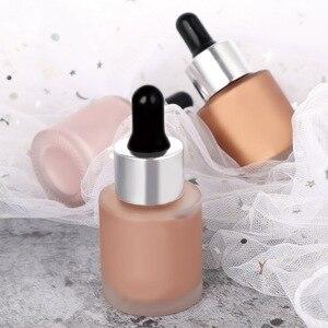 化妝品熒光筆輪廓儀化妝品面部光亮劑遮瑕液液體熒光筆底漆面部發光化妝品