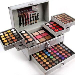 彩妝套裝全套專業彩妝套裝女用盒裝化妝品190色女士眼影調色板套裝化妝套裝