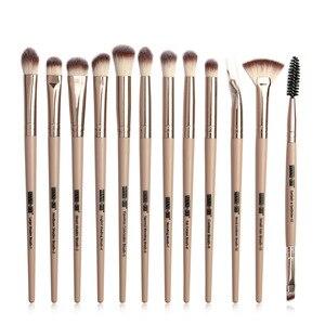 化妝刷套裝專業眼影化妝刷混合眼線筆睫毛化妝工具用眉刷12個/批