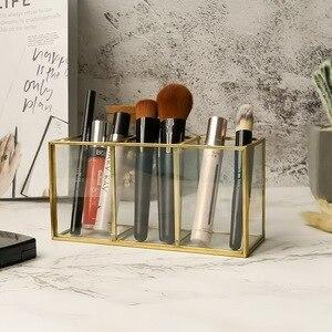 化妝刷收納盒睫毛膏口紅立盒刷和眼線筆化妝盒亞克力化妝工具