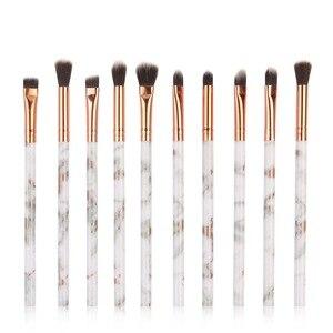 化妝刷套裝專業10/12支/化妝刷套裝眼影膏混合眼線筆睫毛刷化妝工具