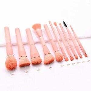 化妝刷化妝工具便攜式尼龍木柄化妝刷高端繪畫化妝刷