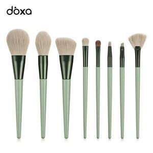 化妝刷新的8件/套眼部化妝刷套裝,帶有自然的眼影混合,用於化妝美容工具套件的化妝刷