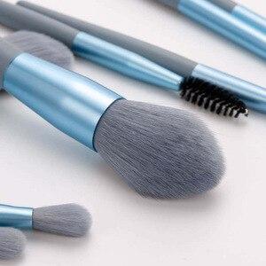 化妝刷套裝8支迷你粉底眼影腮紅唇刷散粉高光修復化妝刷化妝工具