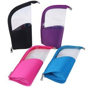 化妝刷架防塵刷化妝架防水旅行套女士刷子收納盒化妝工具