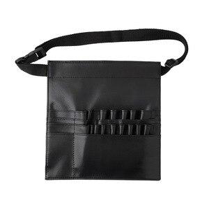 化妝師腰包PU仿皮通用手工多功能化妝刷袋化妝腰包