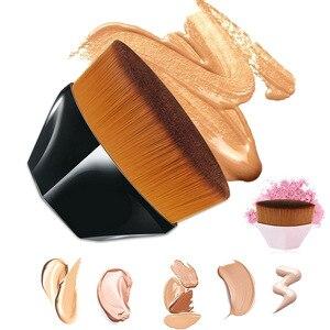 化妝粉底刷BB霜六角形無痕化妝粉刷工具包化妝品化妝工具無暇魔杖粉底刷