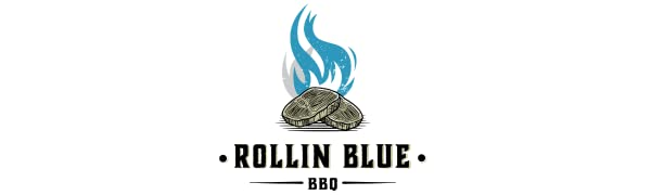 Rollin Blue BBQ Remote meat thermometer for smoker