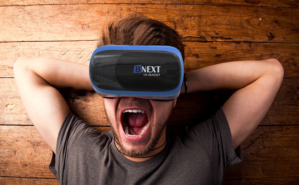 Bnext New VR Headset for iPhone and Android